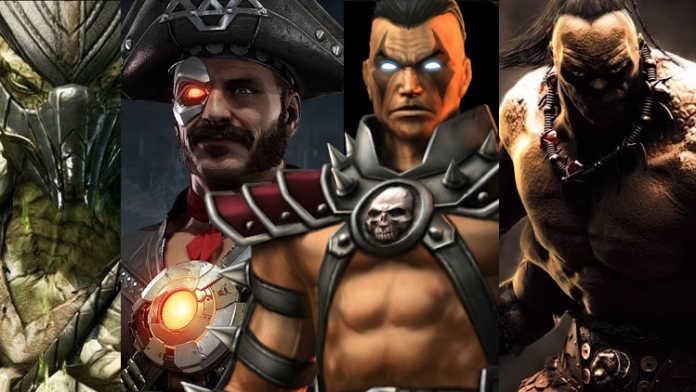 Vazado alguns personagens do Reboot do filme Mortal Kombat