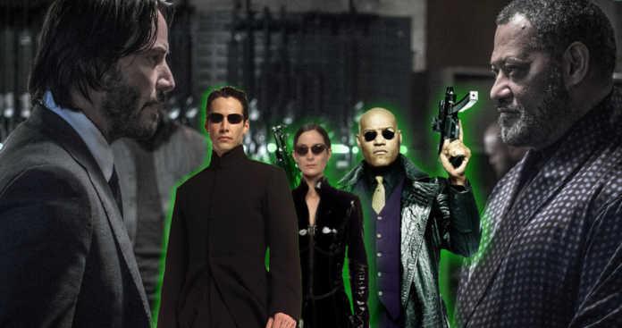 A data de lançamento de Matrix 4 será a mesma que John Wick 4