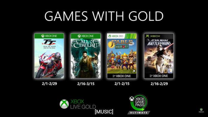 Games with Gold: jogos gratuitos de fevereiro para Xbox para sua conta