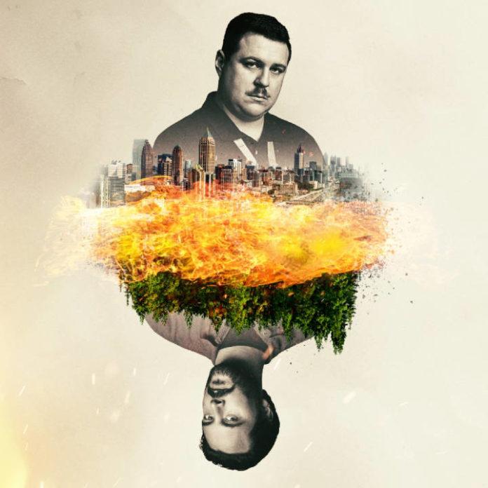 Cameron Britton em 'Manhunt: Deadly Games' e interpretando Richard Jewell