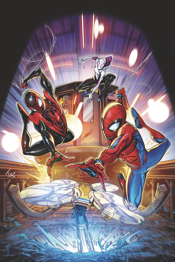 Canais do Homem-Aranha NO VERSO DA ARANHA Conforme retorna para o segundo volume