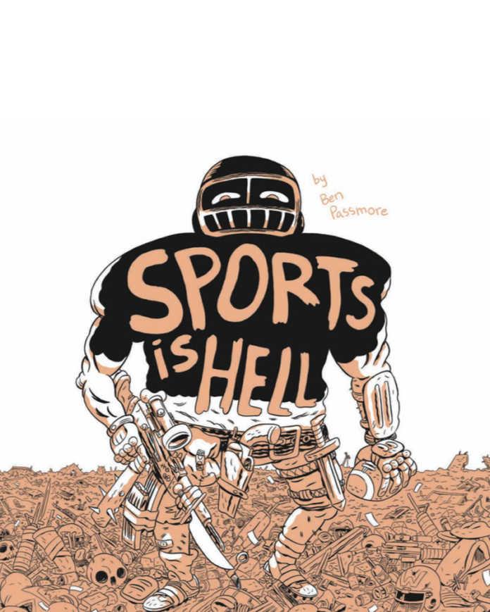 Política e guerra através das lentes do futebol em SPORTS IS HELL, de Ben Passmore