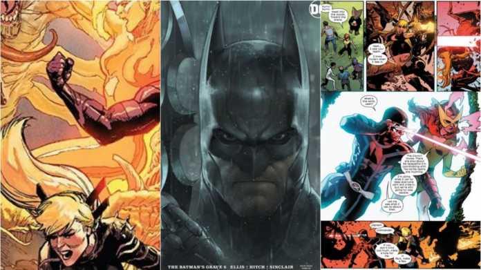 X-MEN # 8, O Túmulo do Batman # 6