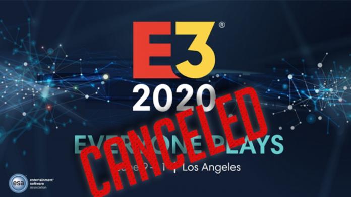 E3 cancelada