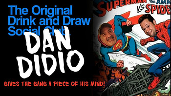 Joe Quesada e Dan DiDio em sua Marvel vs rivalidade DC.