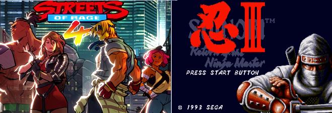 Streets of Rage 4: Shinobi poderia ter sido um dos personagens jogáveis