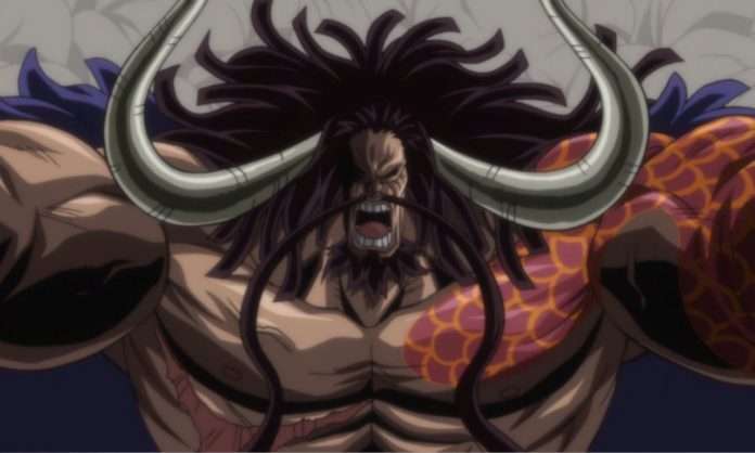 One Piece Promove Kaido em um anúncio preocupante - One Piece Kaido Tobi Roppo Beasts Pirates Mangá (Foto: Shueisha)