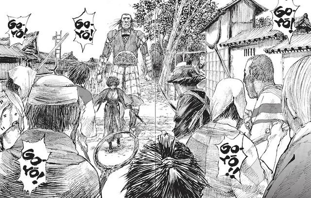 Como o mangá inglês é feito com o editor Blade of the Immortal