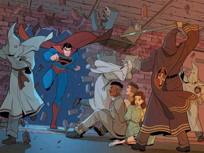 Como a luta na vida real da SUPERMAN contra a KU KLUX KLAN foi levada aos quadrinhos após mais de 70 anos