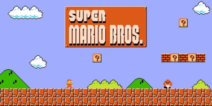 Super Mario Bros Cogumelo Mario - Crédito Nitendo