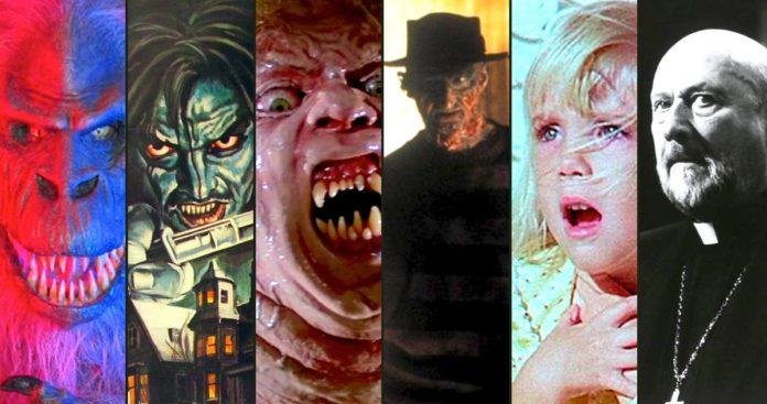 18 Filmes de Terror Mais Assustadores dos anos 1980
