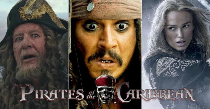 Todos os filmes de Piratas do Caribe ranqueados do melhor para o pior
