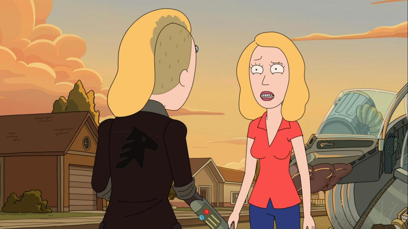Rick and Morty 4ª Temporada Episódio 10 Recapitulação: Life After Beth