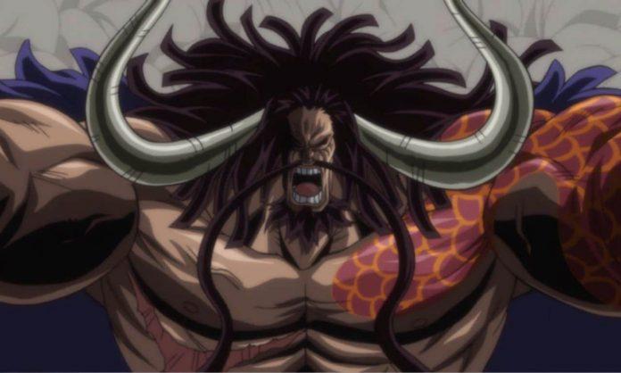 One Piece provoca o anúncio mais importante de Kaido até agora