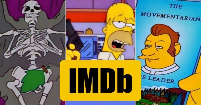Os Simpsons: 10 melhores episódios da 9a temporada classificados (de acordo com o IMDB)