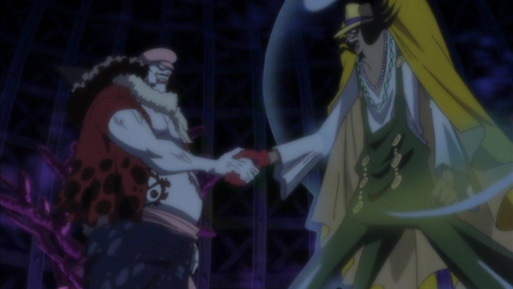 Review One Piece - Episódios 517 até o 540, a viagem até a ilha dos tritões 4