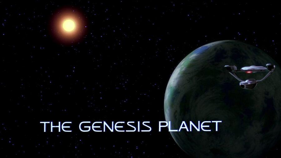 planeta da gênese do star trek III