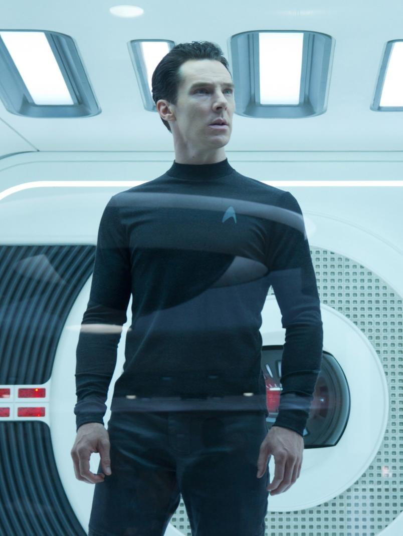 Benedict Cumberbatch em Star Trek na escuridão