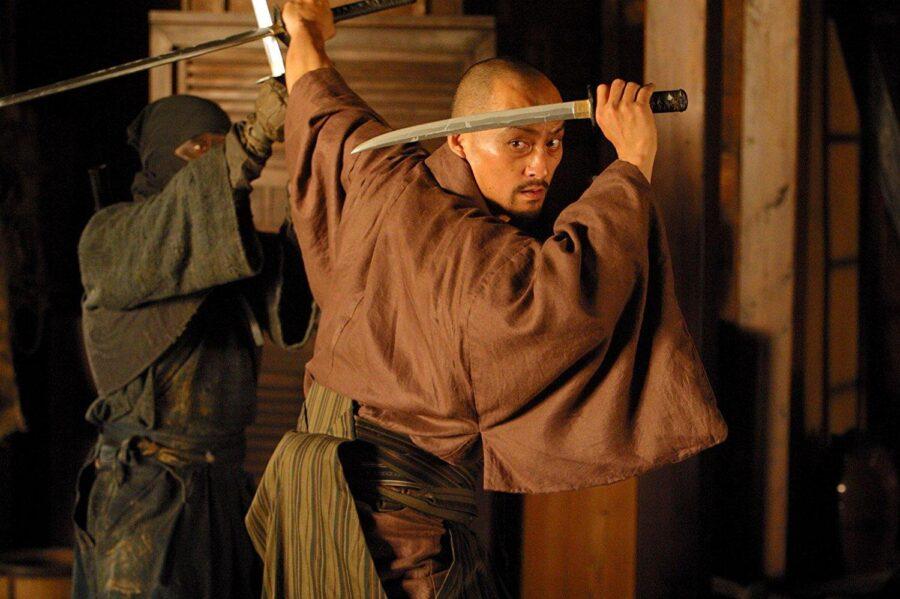 Ken Watanabe em O Último Samurai