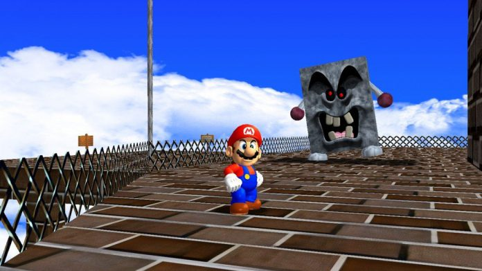 Modders pressionam 'Mario 64' para se parecer com sua incrível arte promocional