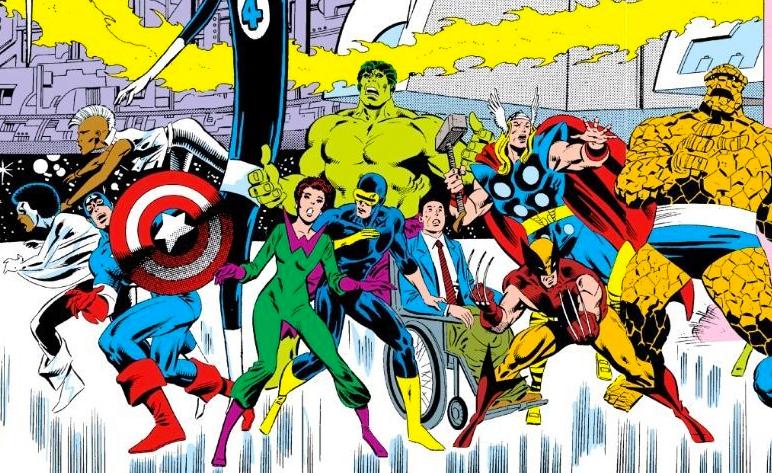 Segredo do filme de super-heróis