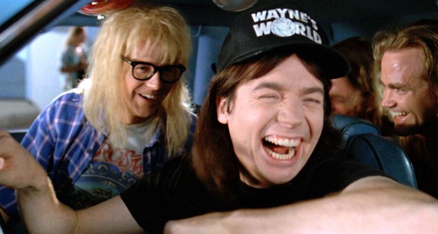 Mike Myers no mundo de Wayne