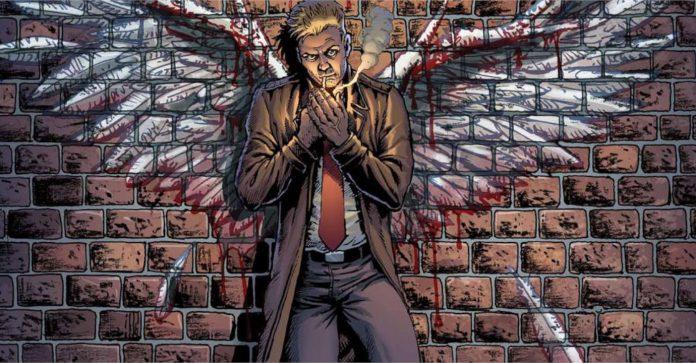 O pequeno John Constantine faz sua estréia em Hellblazer: Ascensão e Queda