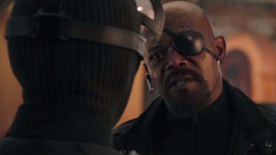 Nick Fury para Homem-Aranha 3