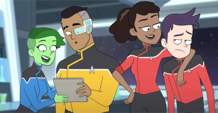 Star Trek: Lower Decks (Star Trek: Deques Inferiores) Acabam de criar uma linha canônica TNG descartável ridícula