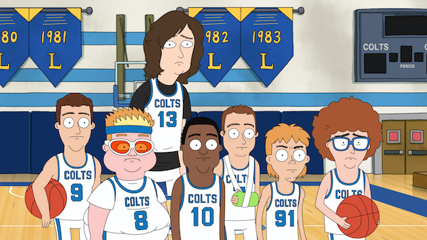 time de basquete hoops-netflix-jake-johnson