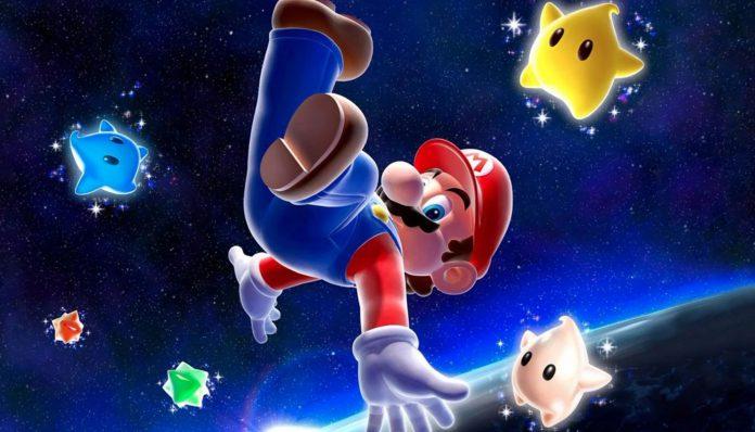 Aleatório: Super Descoberta em Super Mario Galaxy Logo