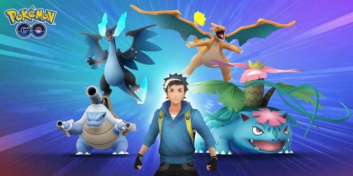Mega Evoluir seu Pokémon