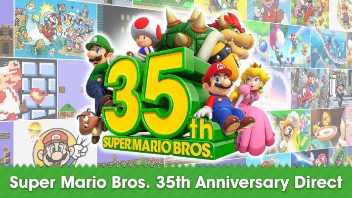 Super Mario 3D All-Stars e outros comemoram o 35º aniversário da série.