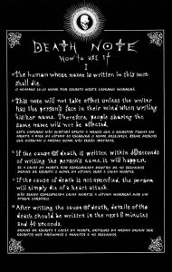 11 Curiosidades sobre o anime Death Note 1