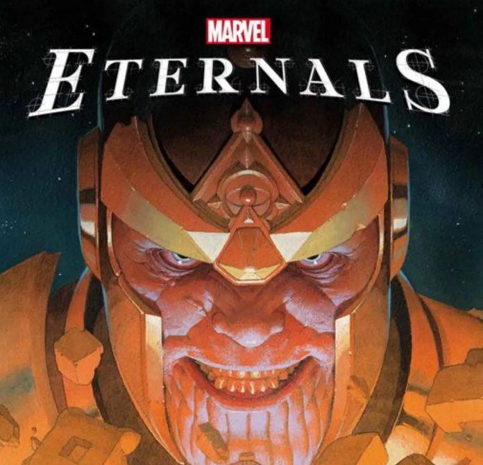 Thanos é o grande mal em Eternals da Marvel