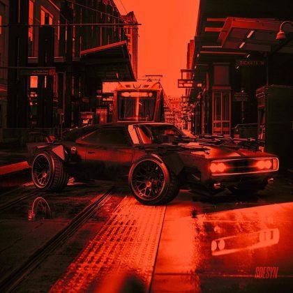 "Dodge Charger ""Batmóvel"" também parece pronto para Robert Pattinson e Vin Diesel 4"