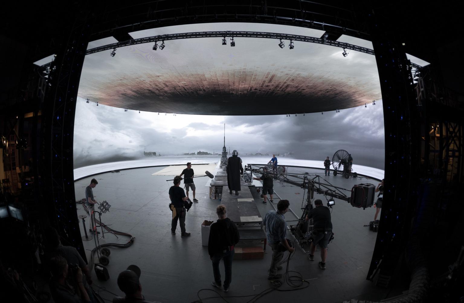 A reinvenção da produção de filmes e séries de TV por 'The Mandalorian' e ILM. 1