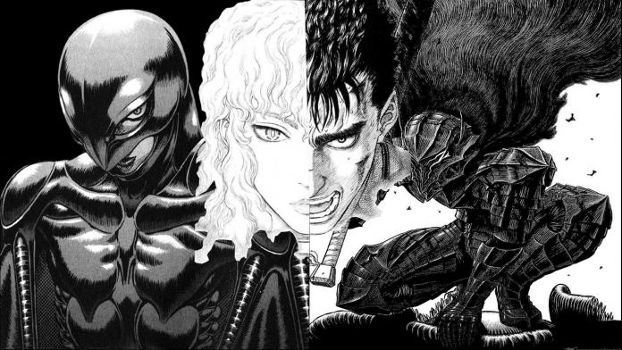 Manga clássico Berserk está voltando para um novo começo