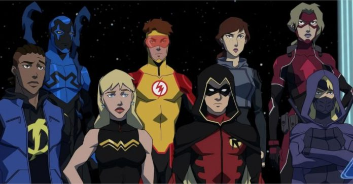 O Young Justice está no Netflix no Hulu ou no Prime?