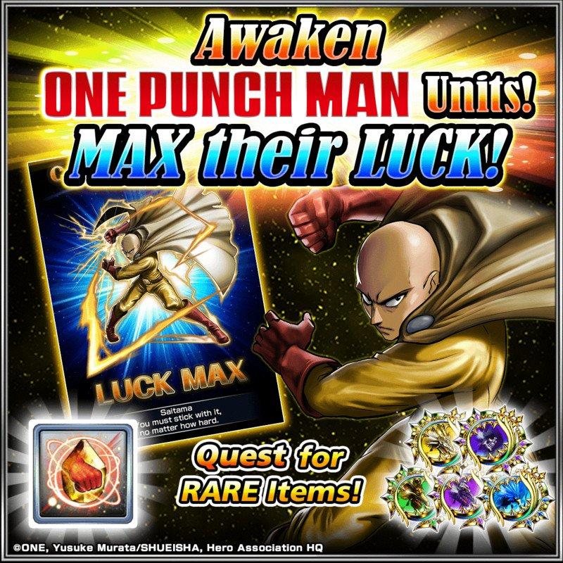 One-Punch Man retorna para GRAND SUMMONERS em uma colaboração avançada 3