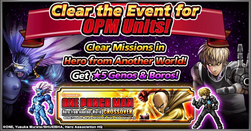 One-Punch Man retorna para GRAND SUMMONERS em uma colaboração avançada 4