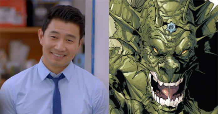 Novos detalhes sobre a dica de 'Shang-Chi' de Simu Liu na aparência de Fin Fang Foom