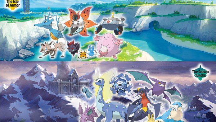 Pokémon Sword & Shield DLC Crown Tundra