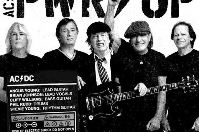 AC/DC está de volta e anuncia novo disco
