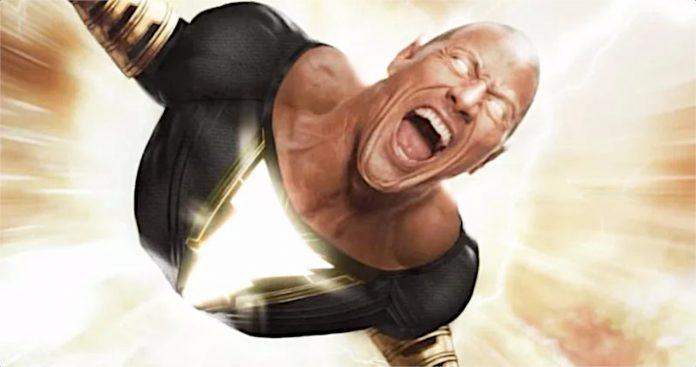 Black Adam 'Adão Negro' do The Rock atrasou indefinidamente na Warner Bros