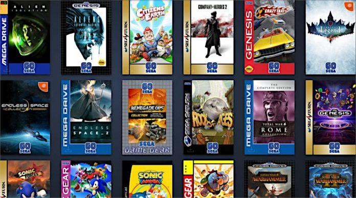 A Sega está fazendo liquidação de 60 anos na Steam e mudando a arte da capa dos jogos