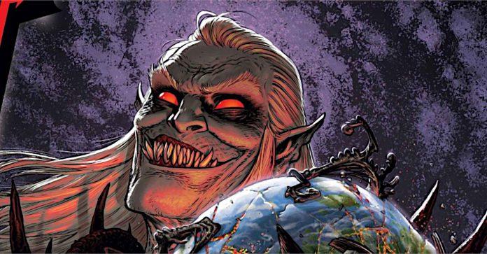 Venom se espalha pelo no 'Planeta dos Simbiotes: King in Black' da Marvel