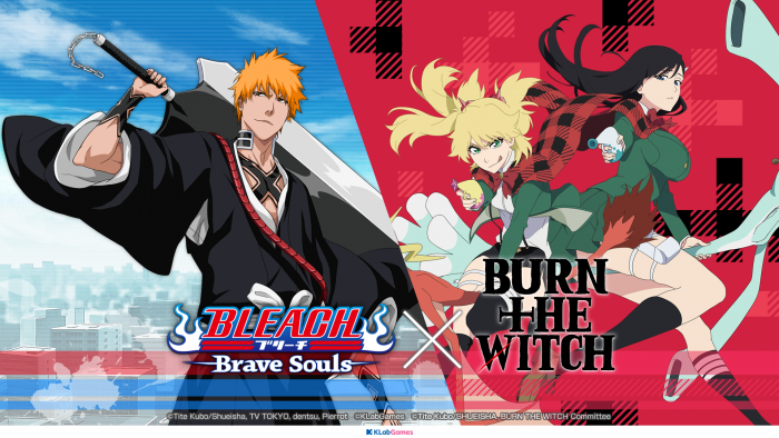 Bleach-Brave-Souls-x-Burn-the-Witch-Collab-700x394 Bleach: Brave Souls x Burn the Witch Evento de colaboração começa com chances de ganhar o produto Collab original!