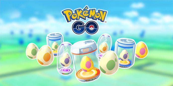 Pokémon GO outubro de 2020 'Egg Shakeup'