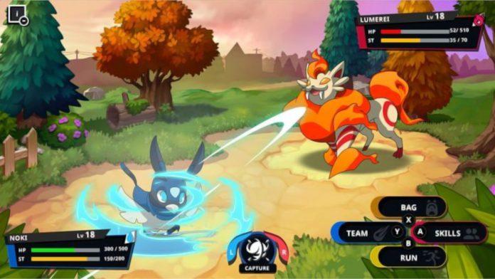 Monster-Catching Metroidvania para capturar monstros sai em dezembro